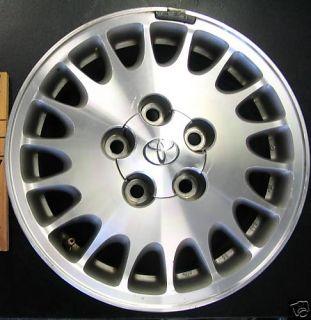 Toyota Cressida 15 Aluminum Factory Wheel Rim 1991 1992 4261122621