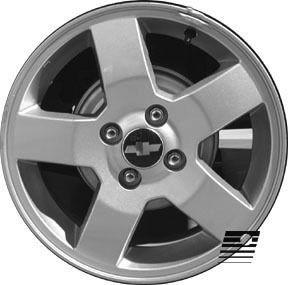 Refinished Chevrolet Aveo 2006 2007 15 inch Wheel Rim