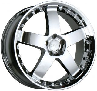 17 CHROME WHEELS RIMS MERCEDES BENZ W201 W124 W202 W203 W215 W210 W140