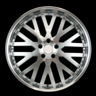 22 Machined Lip Style Wheels 5x120 40mm Rims Fit Land Rover Range
