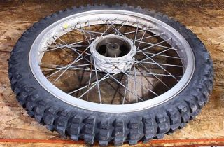 75 Monark Dalesman Scout 125 Sachs Front Wheel Rim Tire OEM