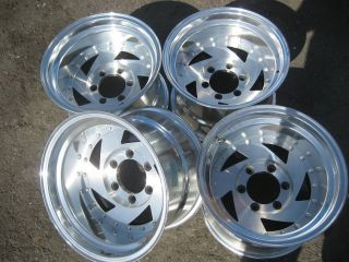 15 15x10 American Racing 226 Wheels Rims 4x4 GMC Chevy 6x5 5 6x139 7
