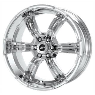 22 6x139 Rims and Tires Chrome Titan Armada Chevy GMC Tahoe Trench