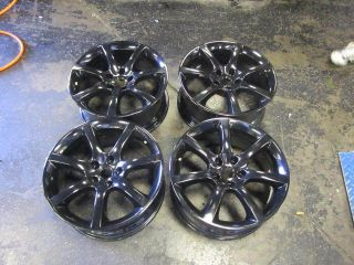 18 Infiniti G35 Factory Wheels Powder Coated Black 5x114 3 G37 Altima
