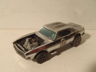 1969 Redline Hot Wheels Chrome Heavy Chevy Original 5 RARE Car Club