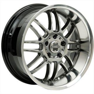 17x8 Axis Apex Gray Wheel Rim s 5x114 3 5 114 3 5x4 5 17 8