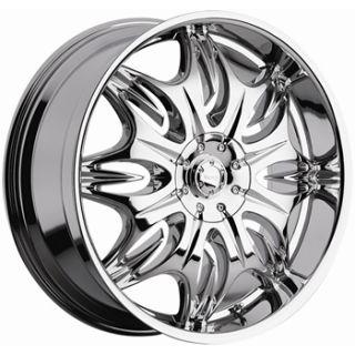 24x9 Incubus Chrome 6x135 F 150 Navigator Expedition Rims Wheels Sale