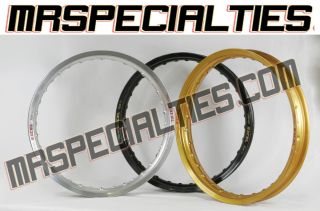 21x1 60 Front Excel Rim All Japanese MX Bikes A Signature Series RM CR