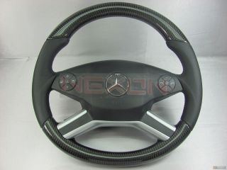 Mercedes W164 ML63 AMG R251 R63 AMG X164 GL AMG Custom Carbon Steering