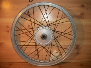 1974 Yamaha MX125 MX 125 MX175 175 Front Wheel Rim Hub Brake Drum