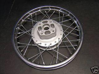 02 Up Yamaha TTR125L TTR125 TTR 125 New 16 Rear Wheel Rim Hub