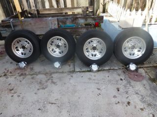 1995 Ford Ranger 14 inch Factory Alloy Rims with Tires