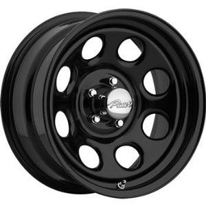 15 inch 15x8 Pacer Soft 8 Black Wheel Rim 5x5 5x127 Jeep Wrangler