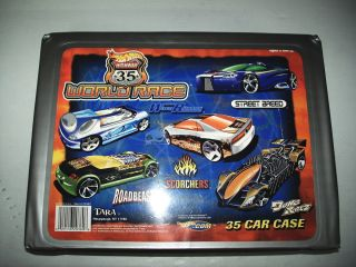 Complete Hot Wheels World Race Highway 35 Set w Case Loose