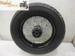2011 Harley Davidson FXS Blackline Softail Rear Wheel Rim