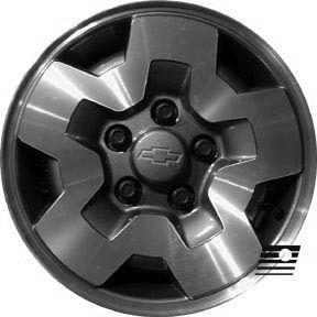 Refinished Chevrolet S10 Blazer 4x4 1994 2000 15 Inch