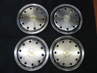 Chevy Suburban 1500 Pickup 88 92 Wheelcover Hubcap 15 inch Set of Four