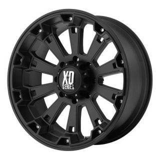 20 inch 20x9 KMC XD Black Wheels Rims 5x5 5 5x139 7 Dodge RAM 1500