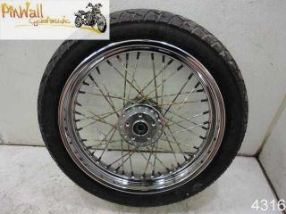 92 Harley Davidson FXRS FXR Front Wheel Rim 19