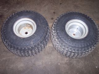 HONDA ODYSSEY ATV FL 250 REAR TIRE STEEL RIMS HUBS GOOD YEAR 21 11 8