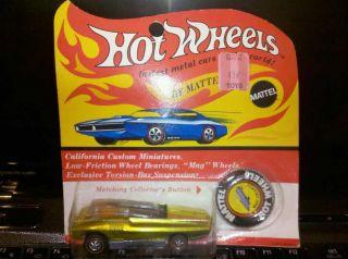 1969 Hot Wheels Redline Whip Creamer Car Unopened RARE