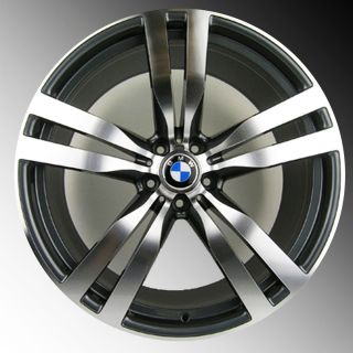 BMW x5 x6 X5M X6M Sport Staggered Rims 20 Wheels Gunmetal Rims