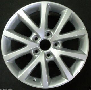 Volkswagen VW Jetta 2010 2011 2012 16 10 Spoke Factory OEM Wheel Rim H