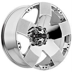 22 inch Ballistic Hyjak Chrome Wheels Rims 5x5 5 5x139 7 15 Dodge RAM