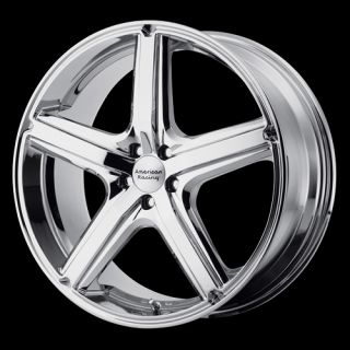 15x7 Ford Transit Connect Chrome 5 on 108 mm Wheel
