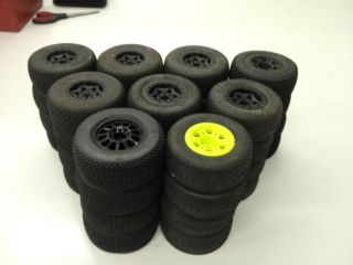RC Offroad 1 10 Scale Short Course SCT Tires and Wheels