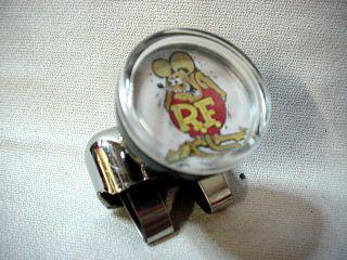 Rat Fink Suicide Steering Wheel Knob Mazooma