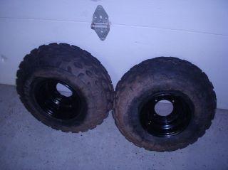 Polaris RZR170 RZR 170 Front Wheels Tires Ranger 19x7x8 Duro Brand at
