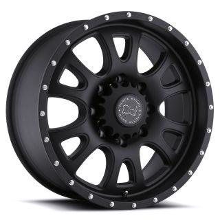 17x9 Black Rhino Lucerne Black Truck Wheel Rim s 6x135 6 135 17 9