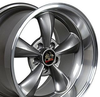 17 Bullitt Wheel Anthracite 17x10 5 Rim Fits Mustang®