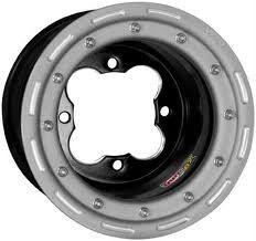 DWT G2 ATV Rear Beadlock Wheel 8 8x8 3 5 4 110 Suzuki Ltr 450 2WD
