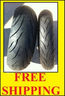 Two New Tire Set 120 70ZR17 180 55ZR17 Motorcycle Tires CBR GSXR YFZ