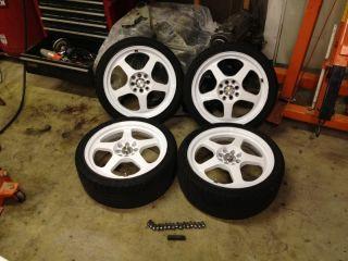17 rota excel slipstream rims rim wheel eg civic crx honda 4x100 4x4 5