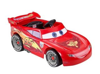 NEW Power Wheels Fisher Price Ride On Disney Pixar Cars 2 Lightning