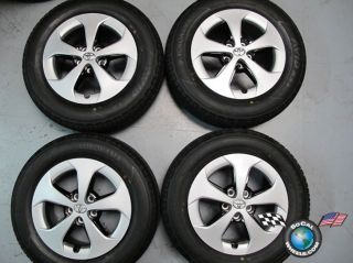 Four 2012 Toyota Prius Factory 15 Wheels Tires Rims