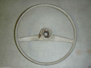 VW Bug Beetle Karmann Ghia Bat Wing Core Steering Wheel Oval