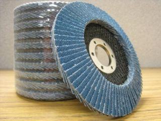 """100 4 1 2""""x7 8 Zirconia Flap Disc Grinding Wheel Copy"""