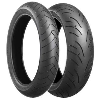 New Bridgestone BT023 BT 023 Front Rear Tires 120 180