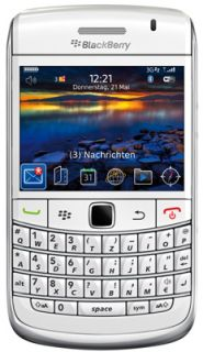 NEW RIM Blackberry BOLD 9780 UNLOCKED WHITE QWERTY Keypad Camera BB