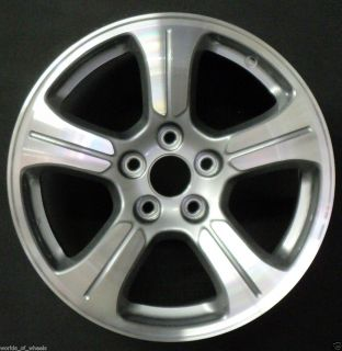 2012 Honda Pilot 18 5 Spoke Machined And Silver Factory OEM Wheel Rim