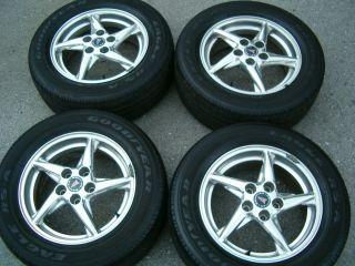 Polished Aluminum Wheels