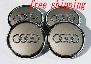 Audi A3 A4 A6 A8 TT Q5 Q7 Wheel Center Cap Cover Hub 4B0 601 170A 4pcs