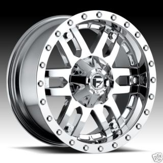 Mojave Wheel Set XD Chrome Rims Ford Chevy GMC Dodge Wheels