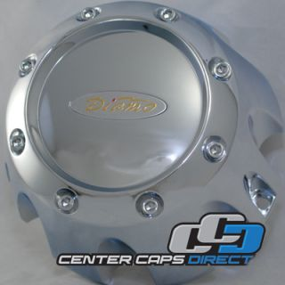 538 B170 8H DIAMO Wheels Chrome Center Cap 8 Lug