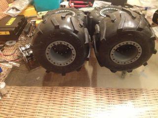 Derlin custom painted beadlock wheels tamiya clod buster txt1 jugg