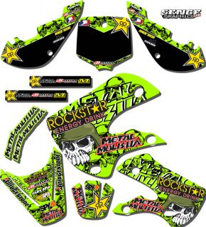 1999 2000 2001 2002 KX 125 250 Graphics Kit Kawasaki KX125 KX250 Deco